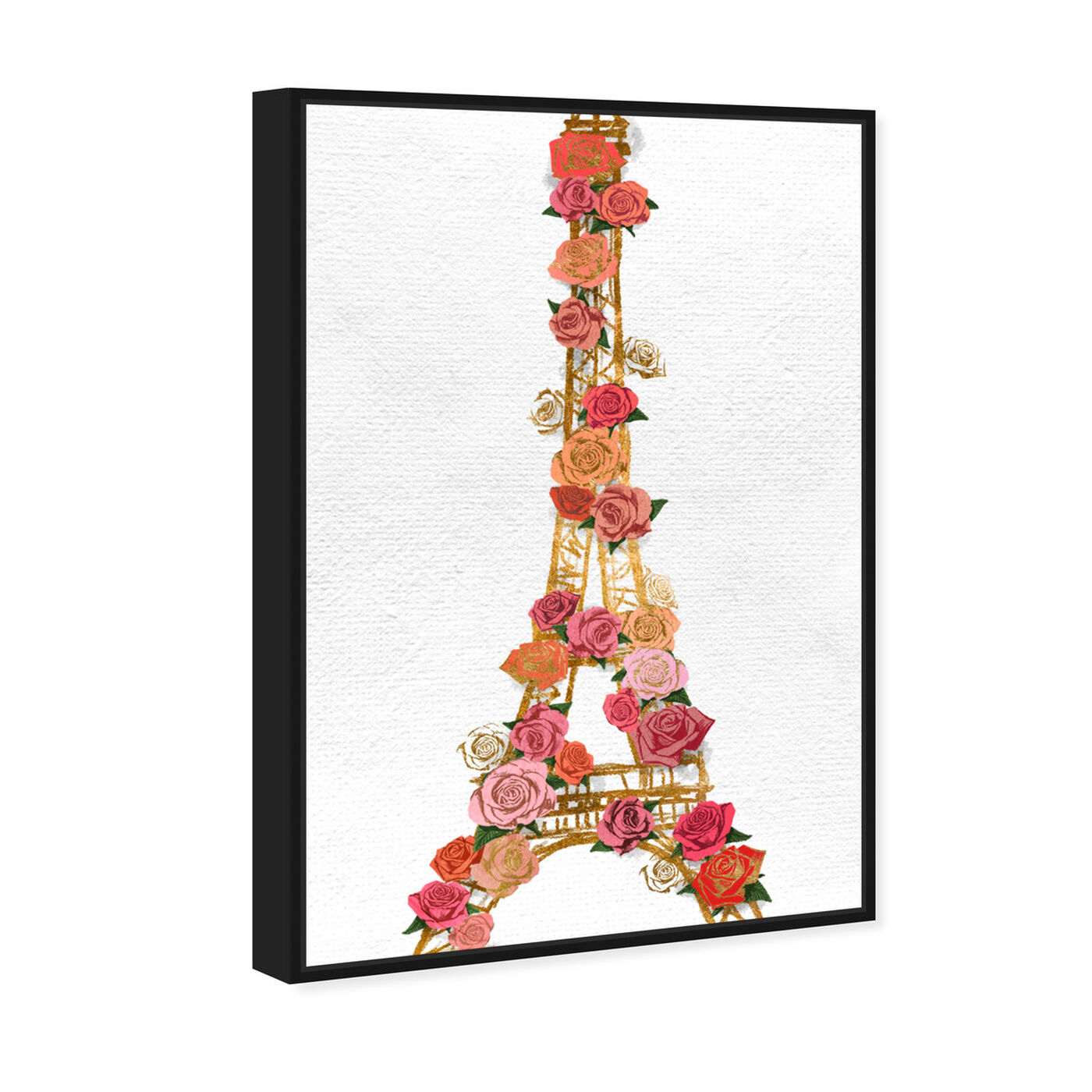 Angled view of Gold Lattice featuring fashion and glam and travel essentials art.
