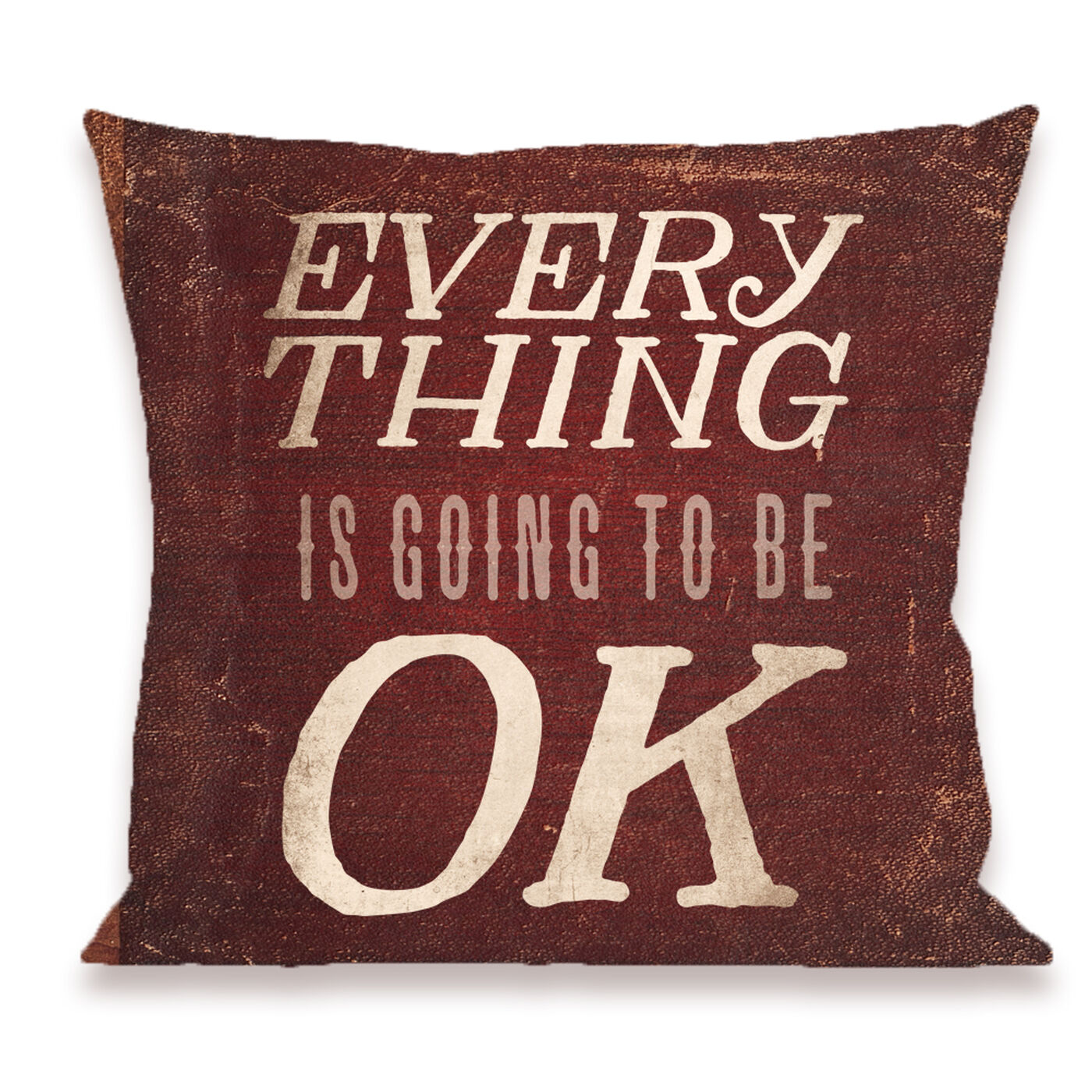 Everything Is Okay Pillow