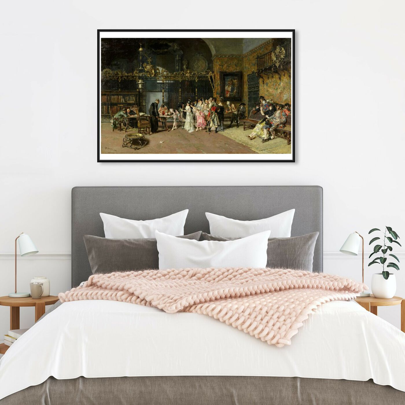 Hanging view of Fortuny - La Vicaria featuring classic and figurative and renaissance art.