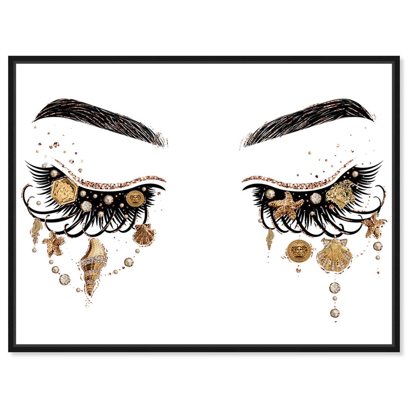 Front view of Gianni Eyes and Treasures featuring fashion and glam and makeup art.