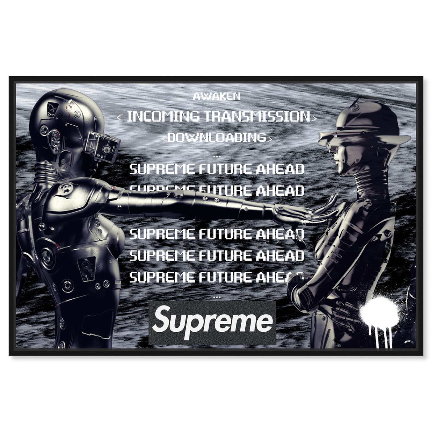 Front view of Awaken Hype Beast Future art.