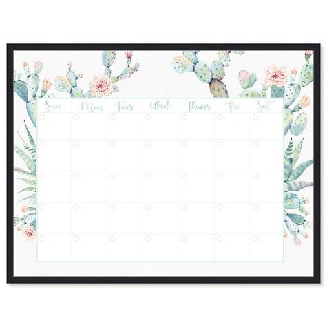 Cactus Monthly Calendar