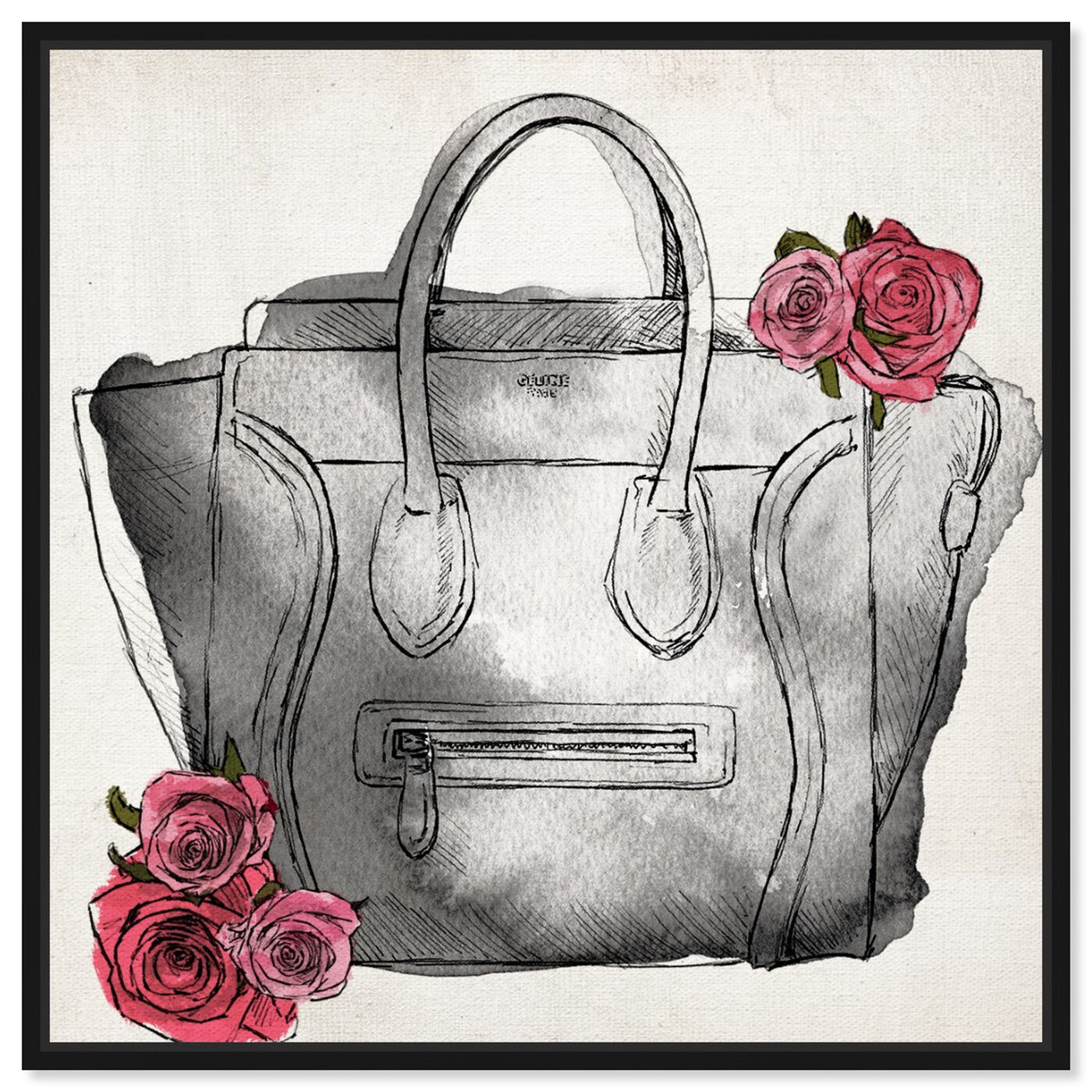 Front view of Spoil Me Please Classic featuring fashion and glam and handbags art.
