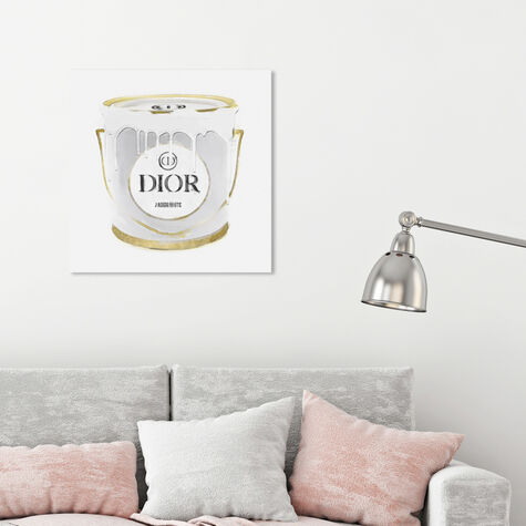 All White French Paint