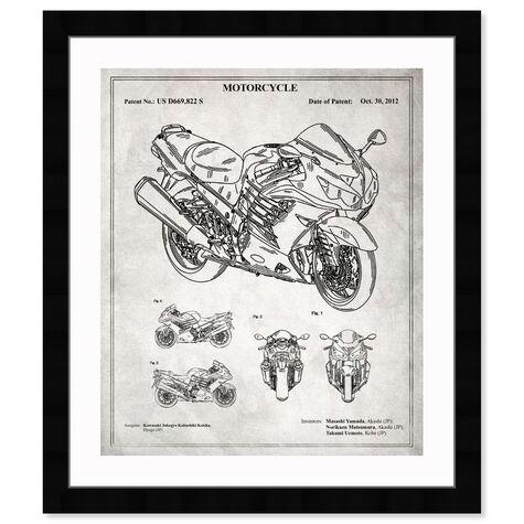 Motorcycle 2012 - Grey