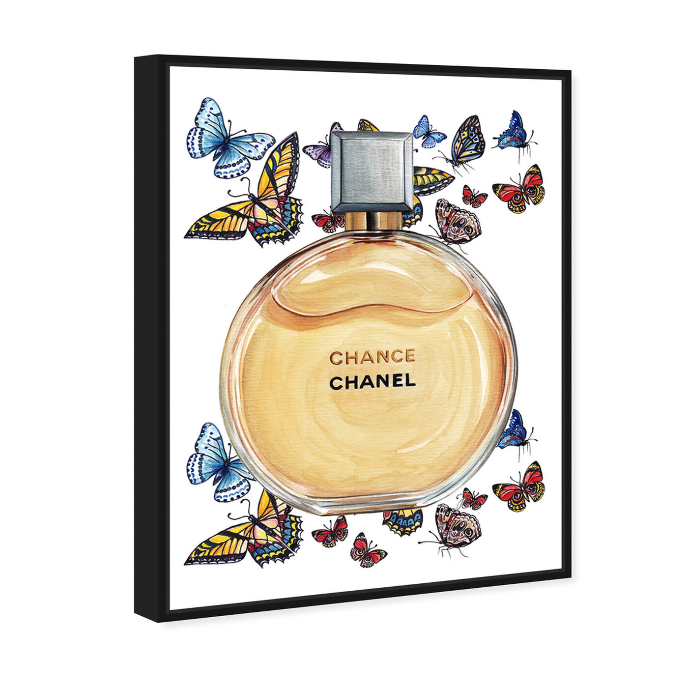 Angled view of Doll Memories - Chance Butterflies featuring fashion and glam and perfumes art.