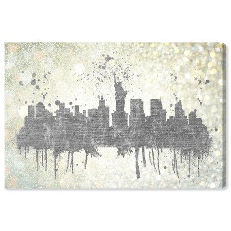 Silver Rain on NYC