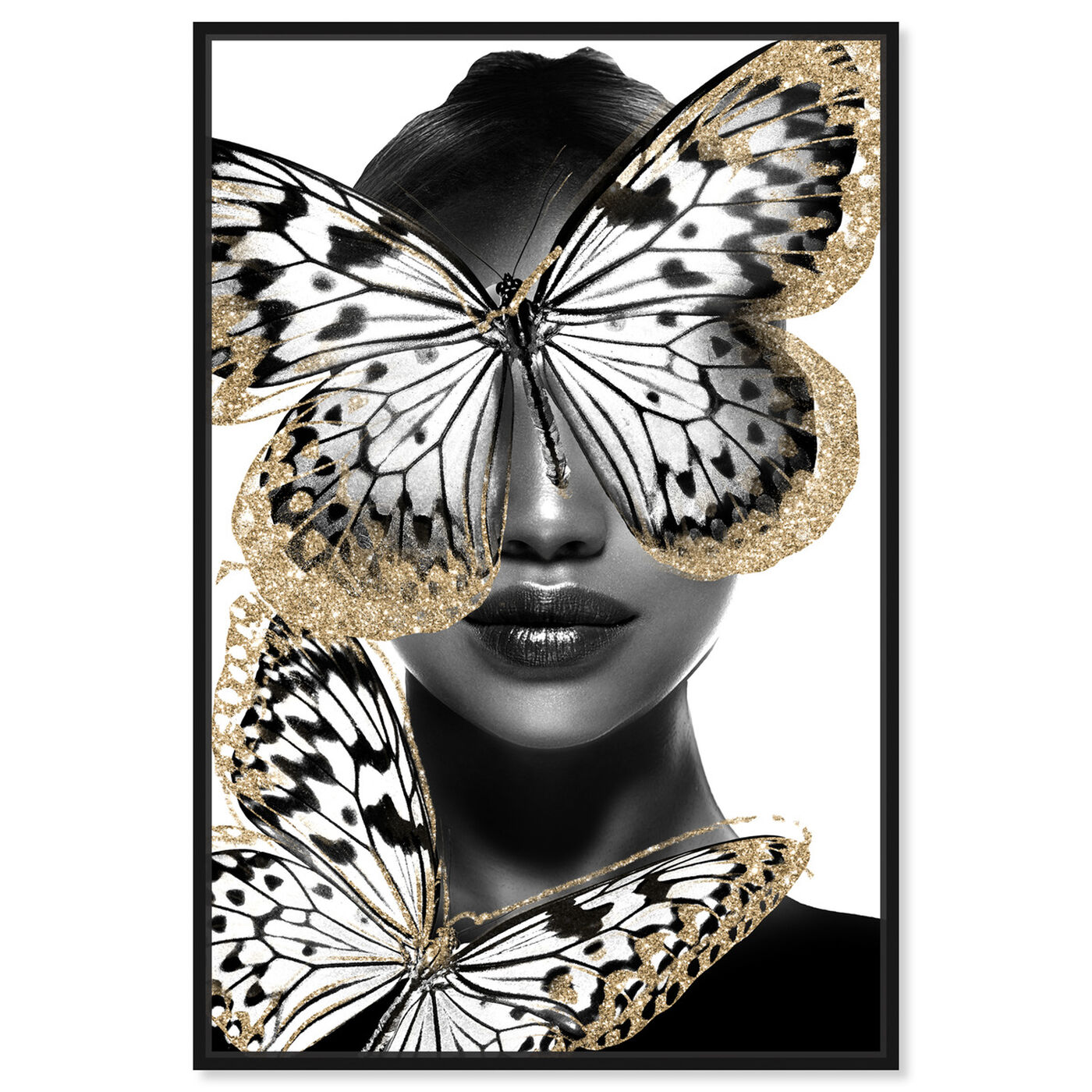 Front view of Royalty of Wings featuring fashion and glam and portraits art.