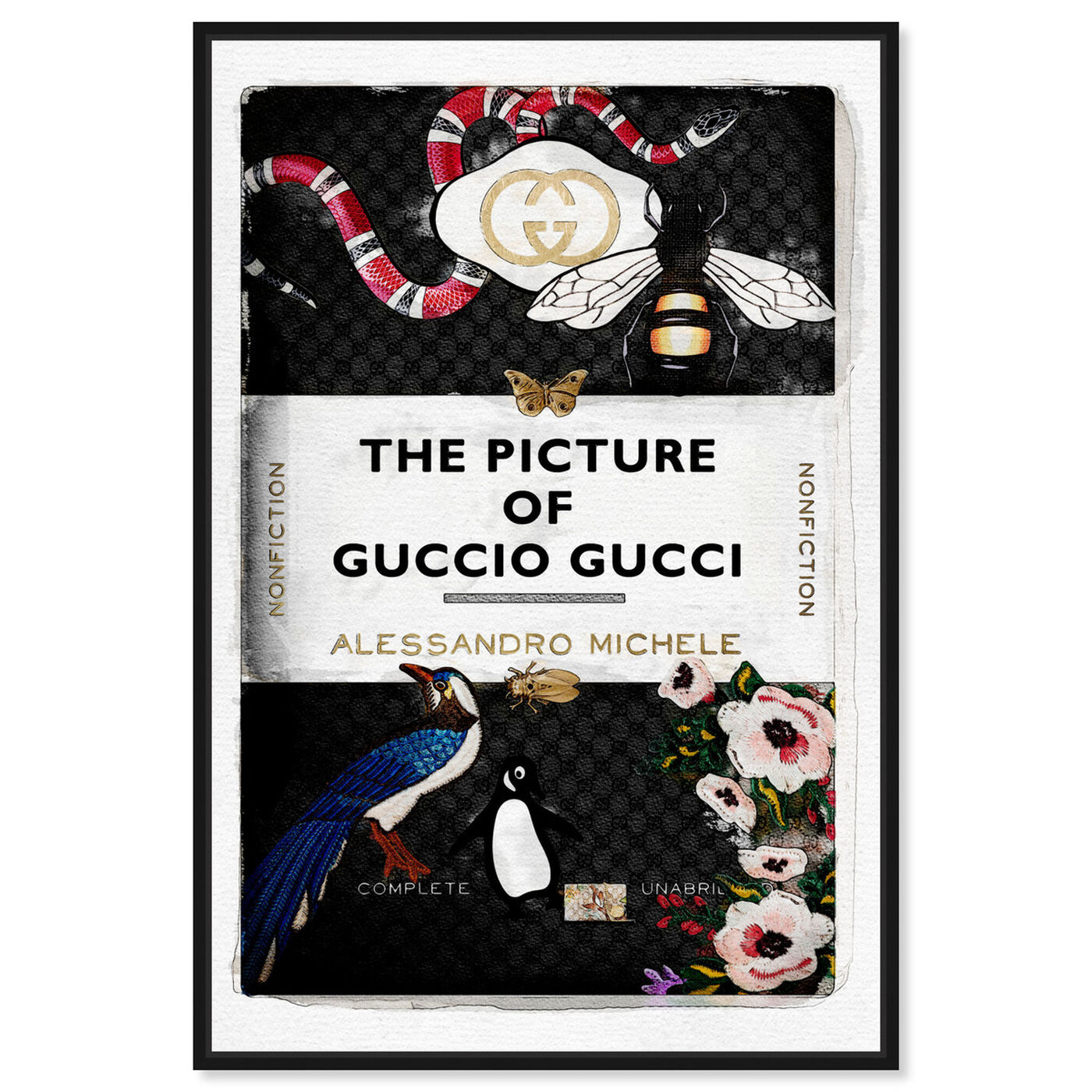 Front view of The Italian Luxe Book featuring fashion and glam and books art.