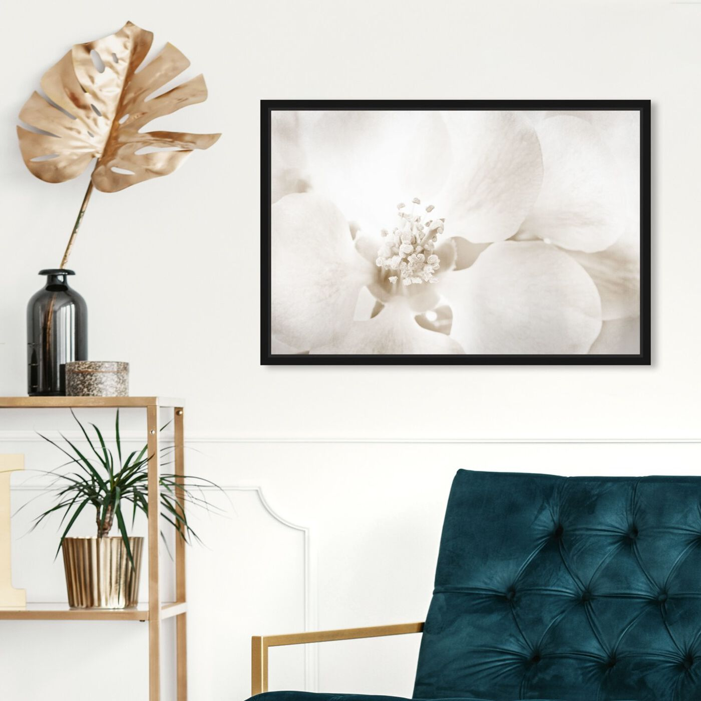 Hanging view of Orchid Love featuring floral and botanical and florals art.