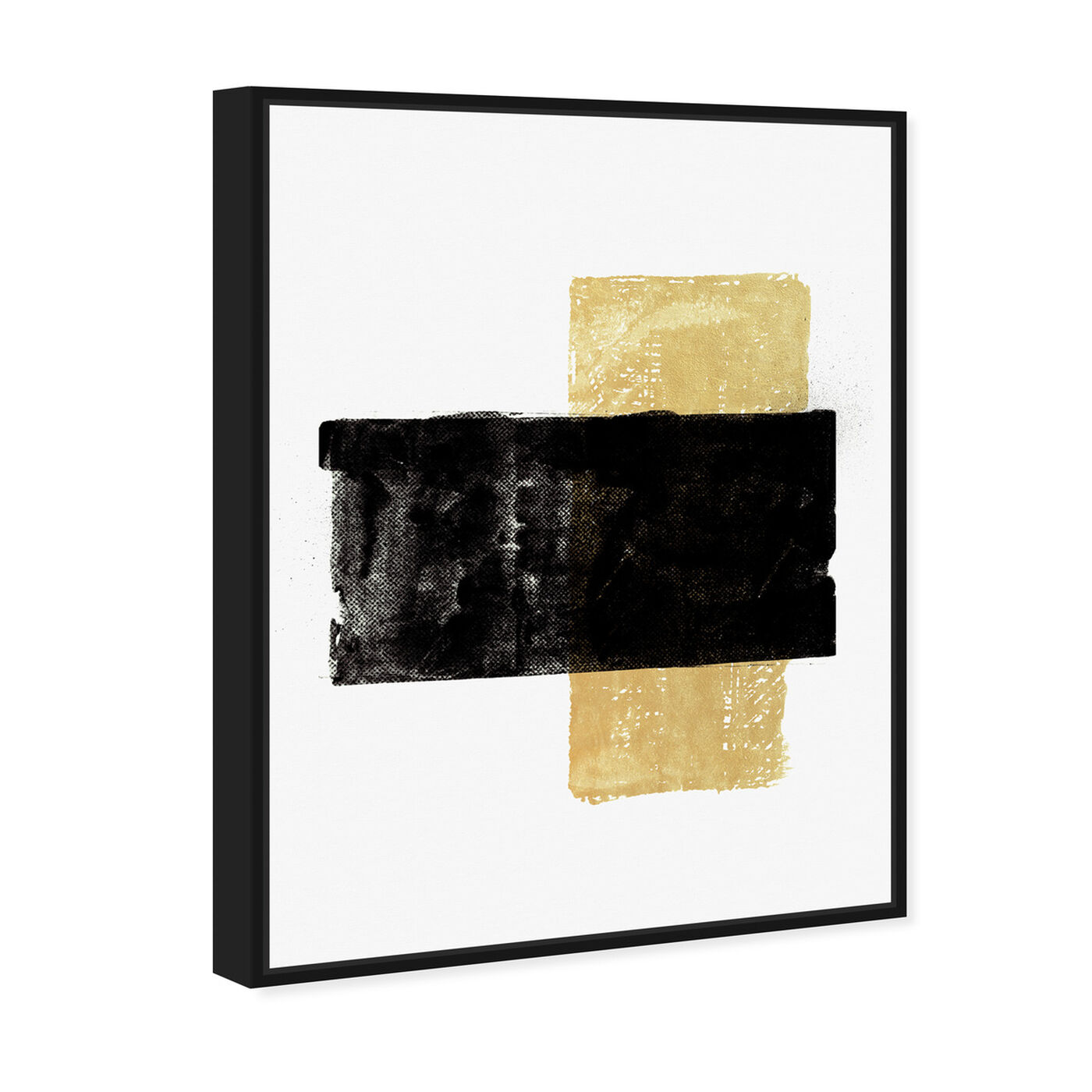 Angled view of Ochre Reed featuring abstract and paint art.