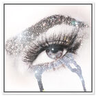Front view of Eyes and Rhinestones II featuring fashion and glam and makeup art. image number null