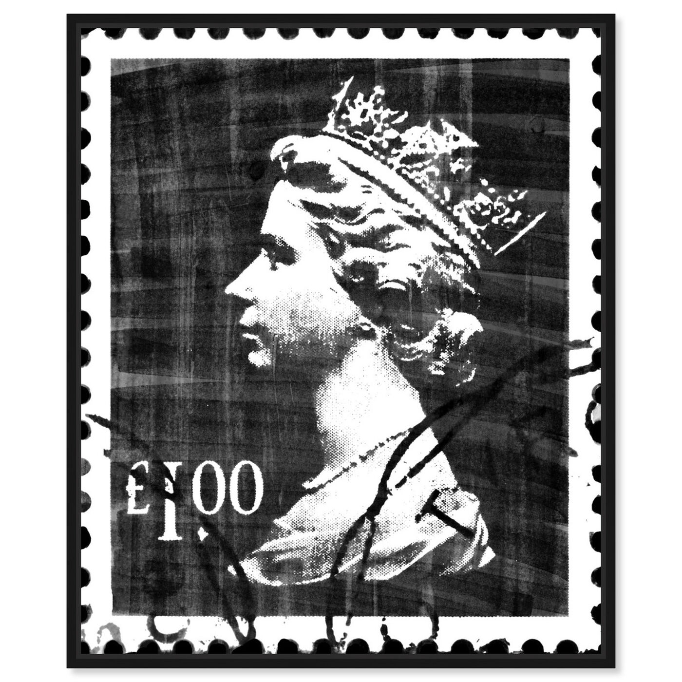 Front view of Save The Queen Two featuring advertising and posters art.