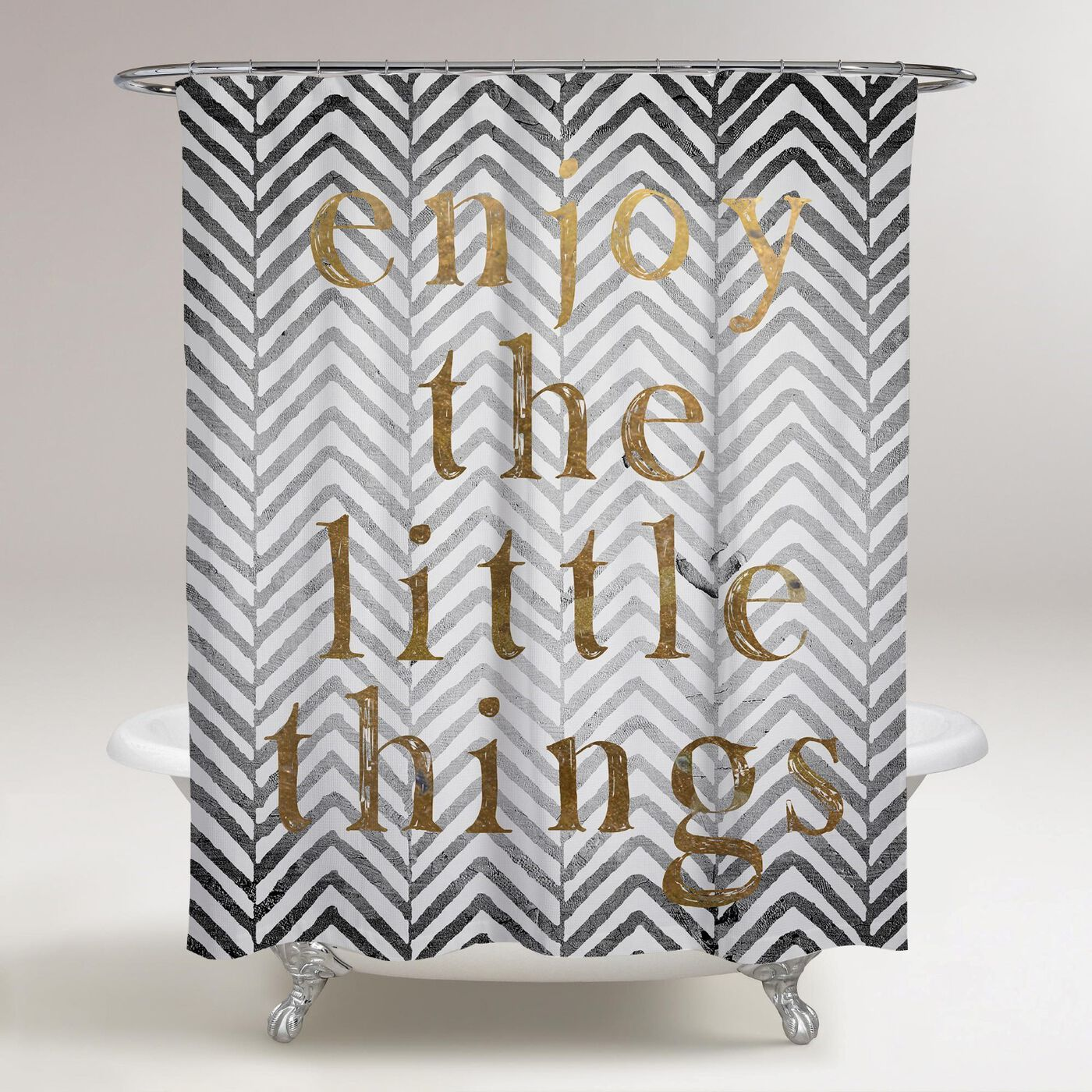 Enjoy The Little Things Shower Curtain