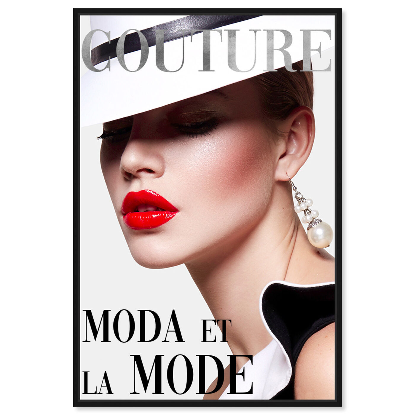 Front view of Cover Fashion Couture III featuring fashion and glam and makeup art.