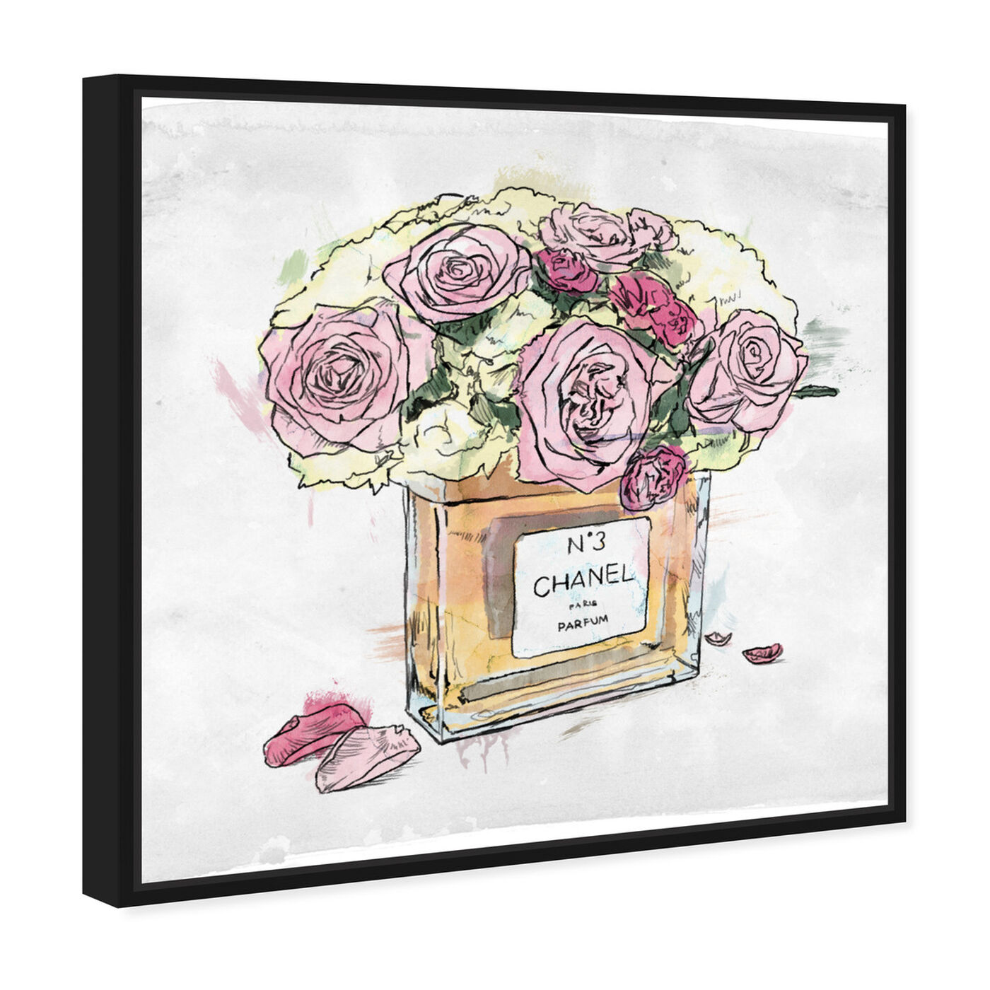 Angled view of Flower Vase  featuring fashion and glam and perfumes art.