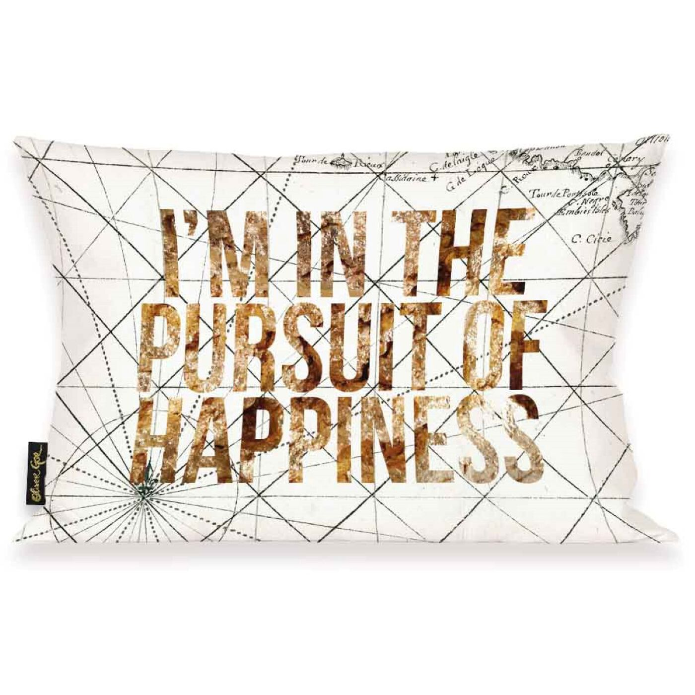Pursuit of Happiness Pillow