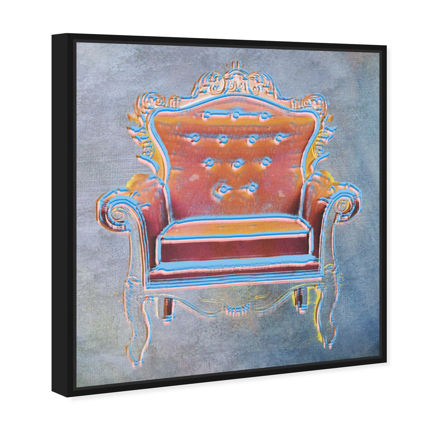 Angled view of The Throne II featuring fashion and glam and lifestyle art.