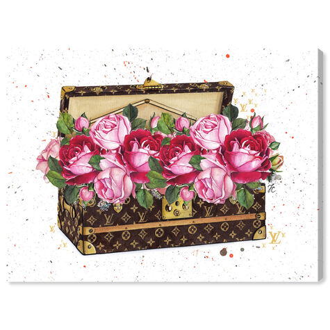 Doll Memories - Floral Trunk