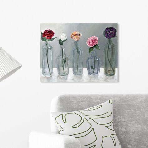 Bottled Flowers