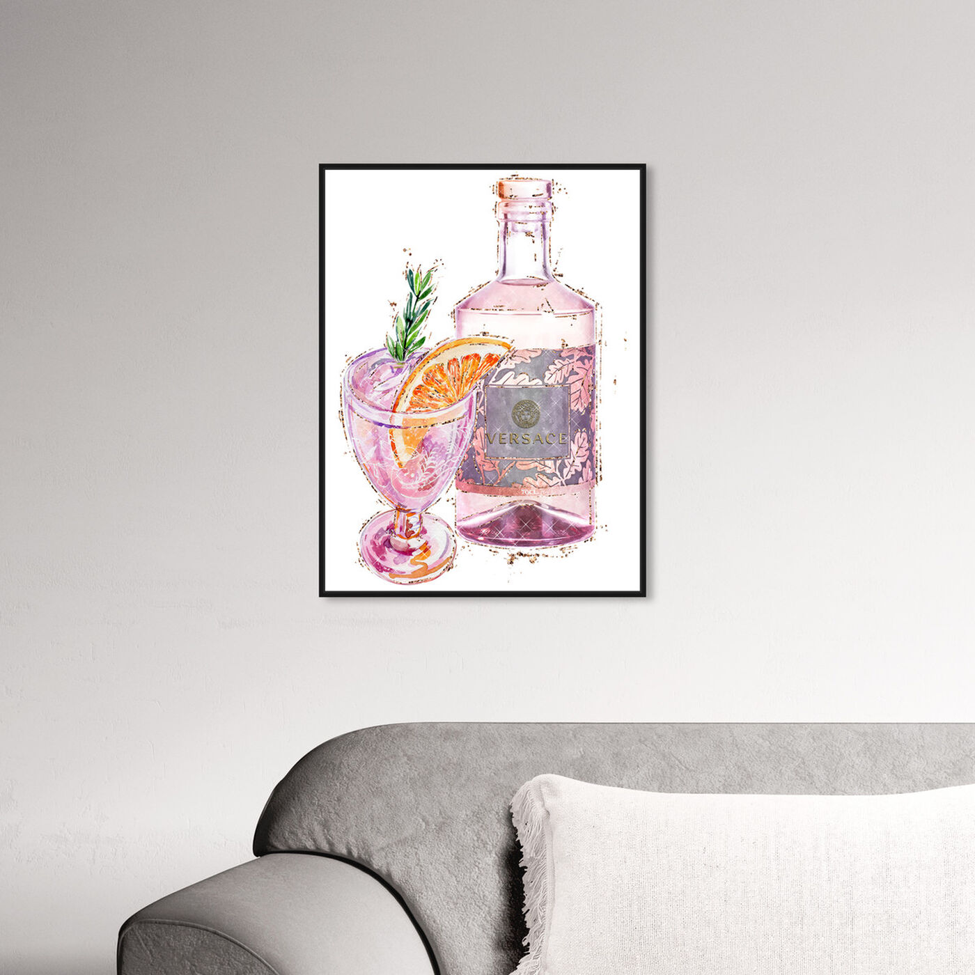Hanging view of Bitters in Italy featuring drinks and spirits and cocktails art.