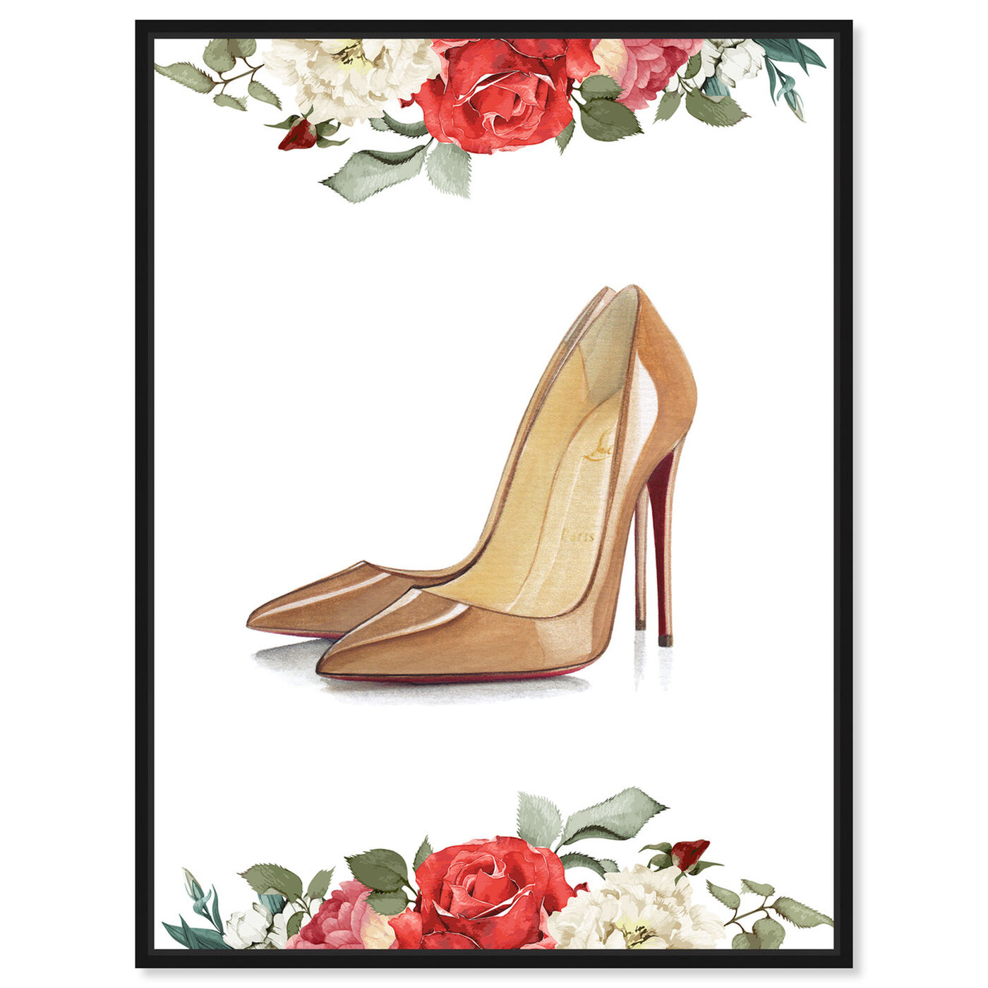 Front view of Doll Memories - Standalone Stilettos featuring fashion and glam and shoes art.