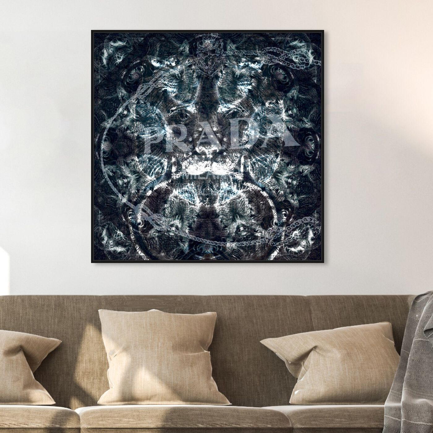 Hanging view of Majestic Night featuring fashion and glam and lifestyle art.
