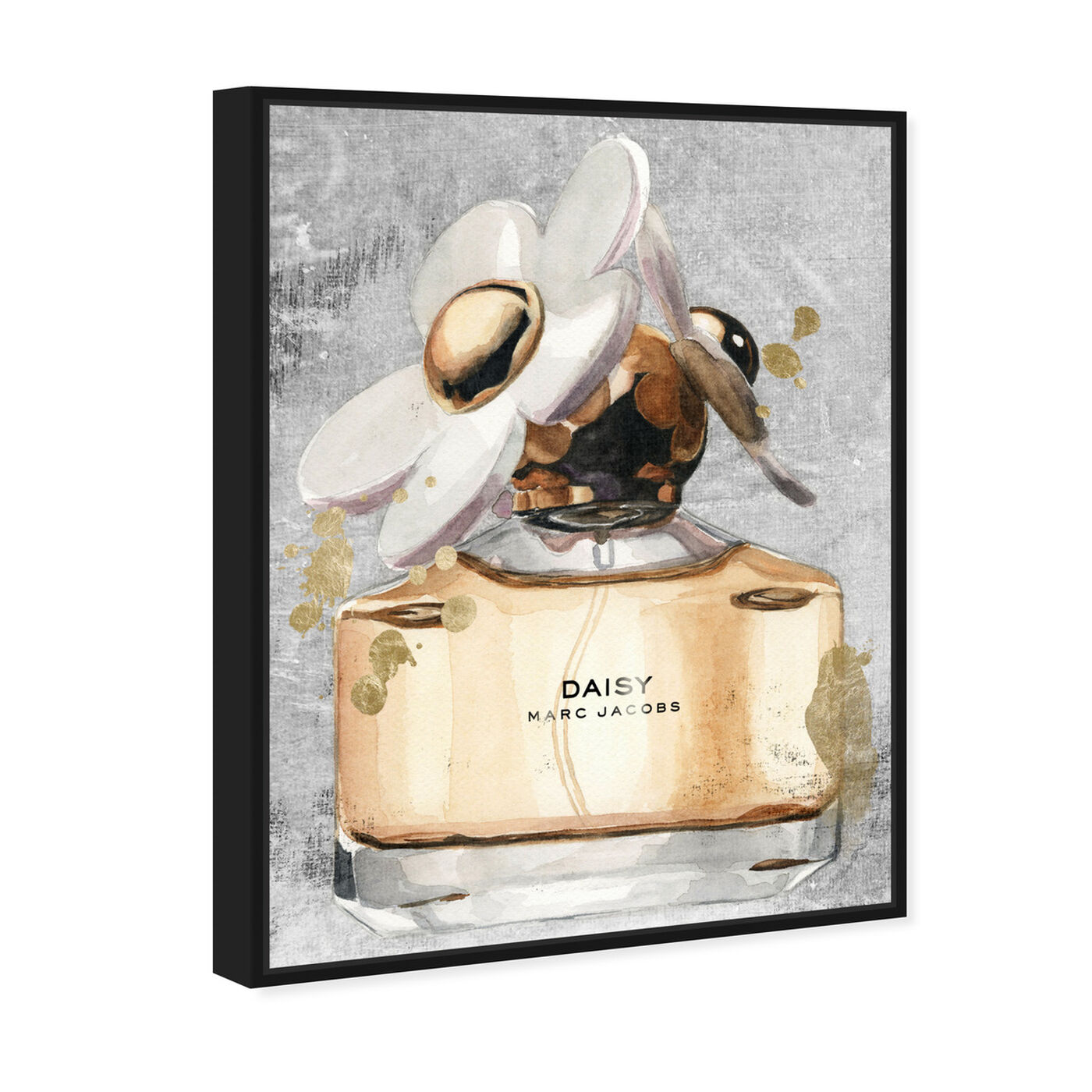 Angled view of Daisy Perfume featuring fashion and glam and perfumes art.