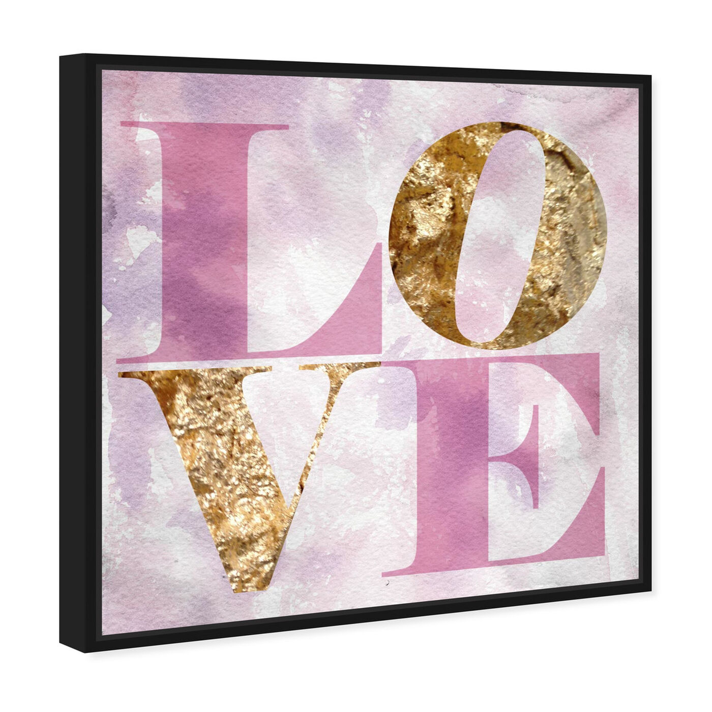 Angled view of Love Pastel featuring typography and quotes and fashion quotes and sayings art.