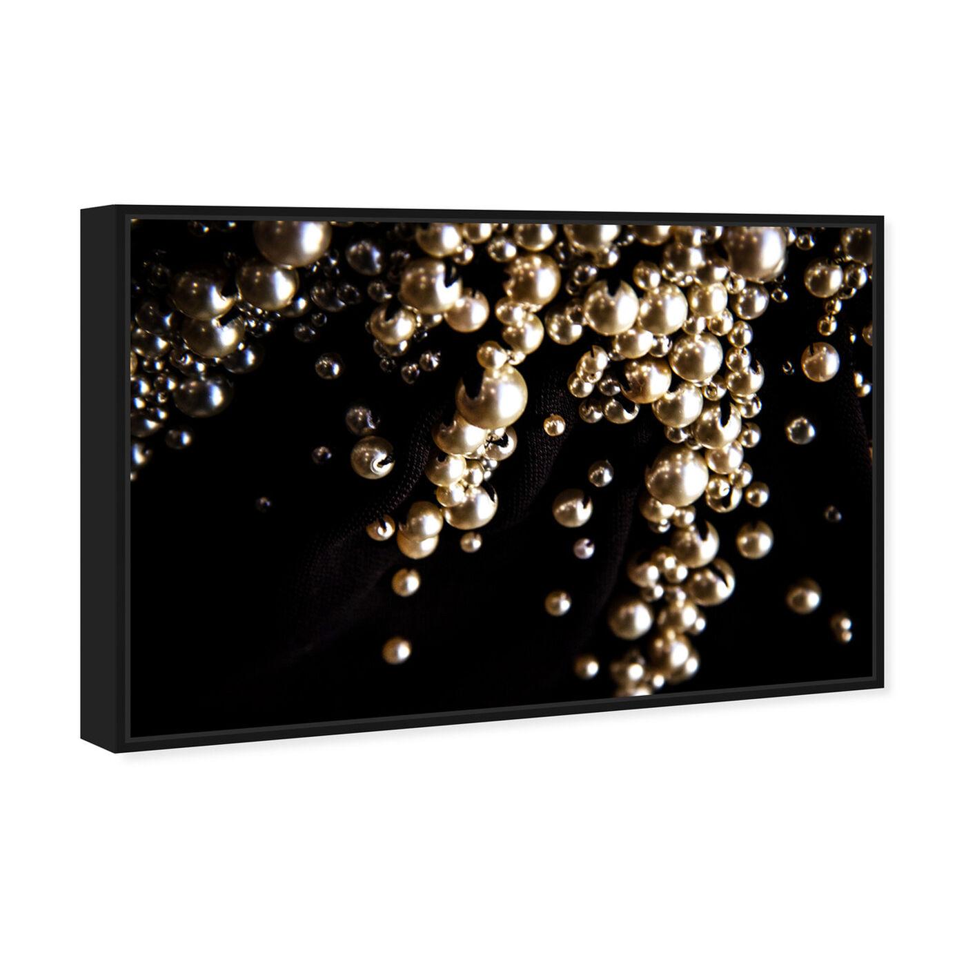 Angled view of Mark Zunino - Raining Beads III featuring fashion and glam and jewelry art.