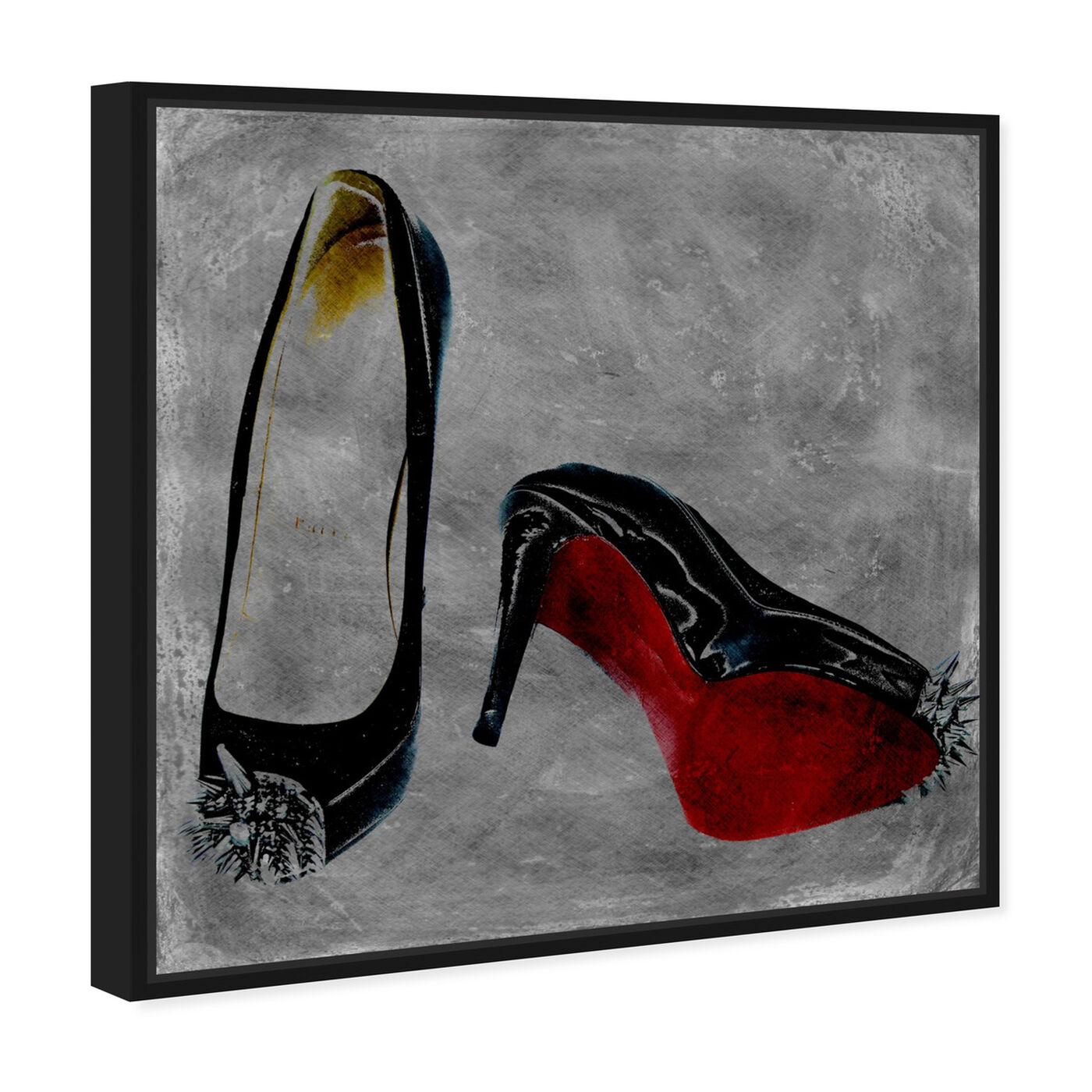 Angled view of Get A Kick Out Of It featuring fashion and glam and shoes art.