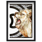 Front view of Lion Effect Symbol II featuring fashion and glam and lifestyle art. image number null