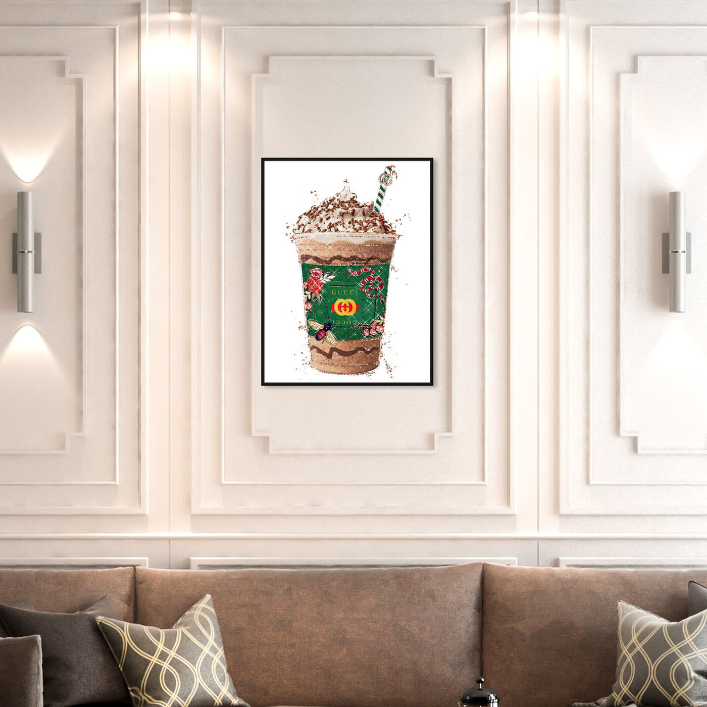 Hanging view of Wild Green Coffee featuring fashion and glam and lifestyle art.