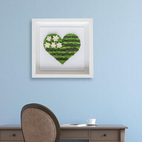 Moss Heart Flag