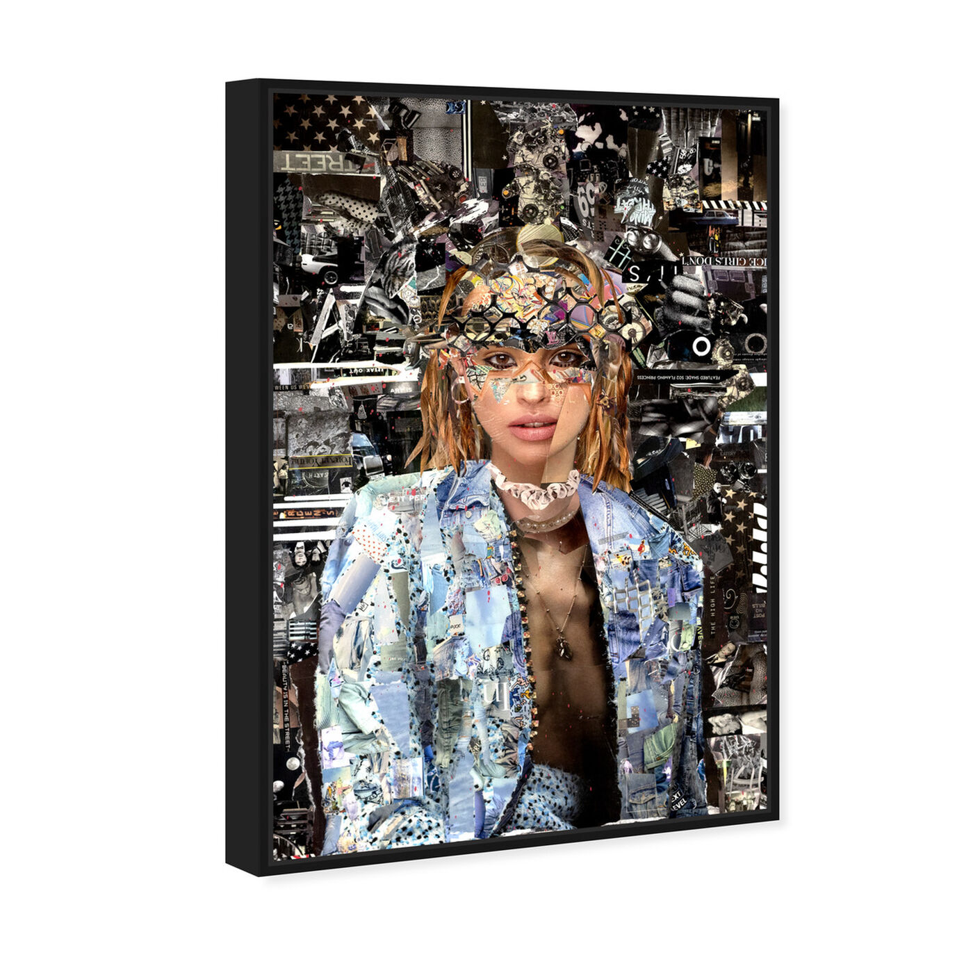 Angled view of Katy Hirschfeld - Queen of her Realm featuring fashion and glam and portraits art.
