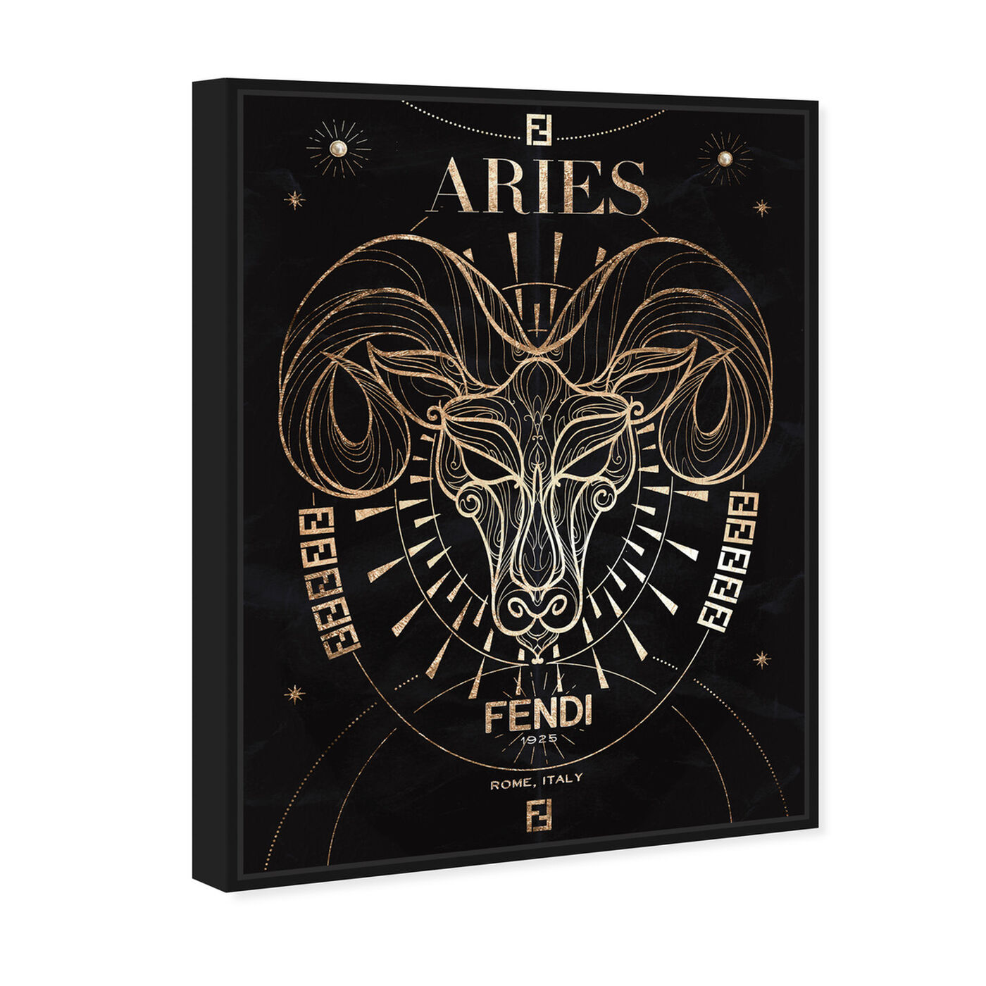 Angled view of Mémoire d'un Aries featuring fashion and glam and lifestyle art.