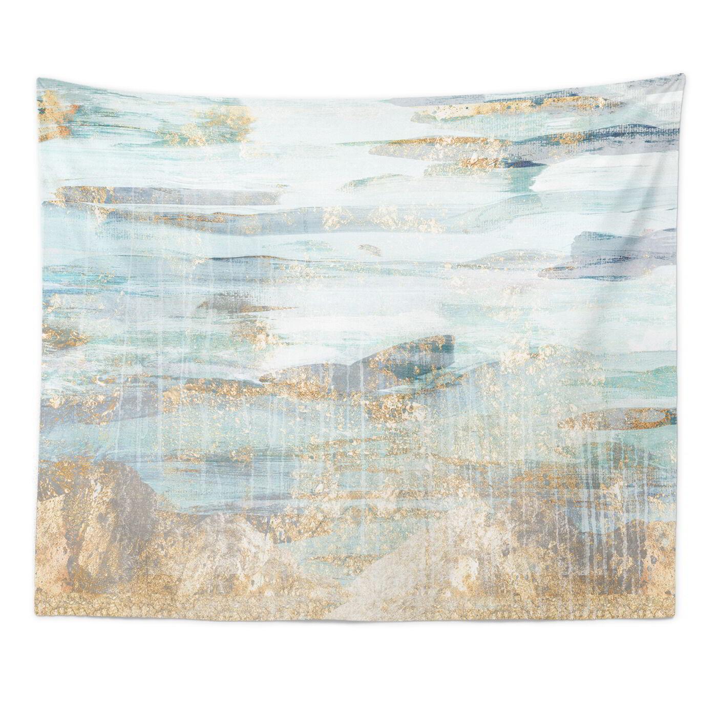 Love in Teal Tapestry Art