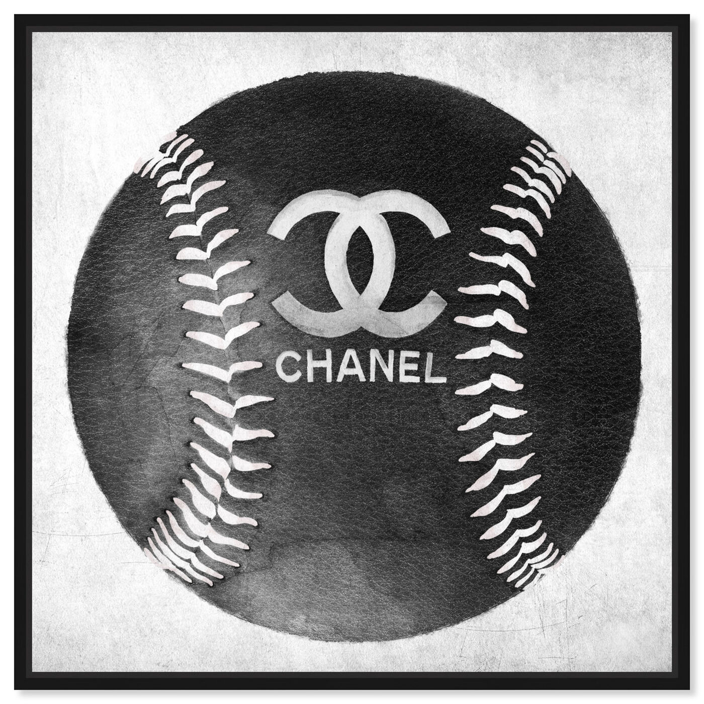 Front view of Fashion Baseball featuring fashion and glam and lifestyle art.