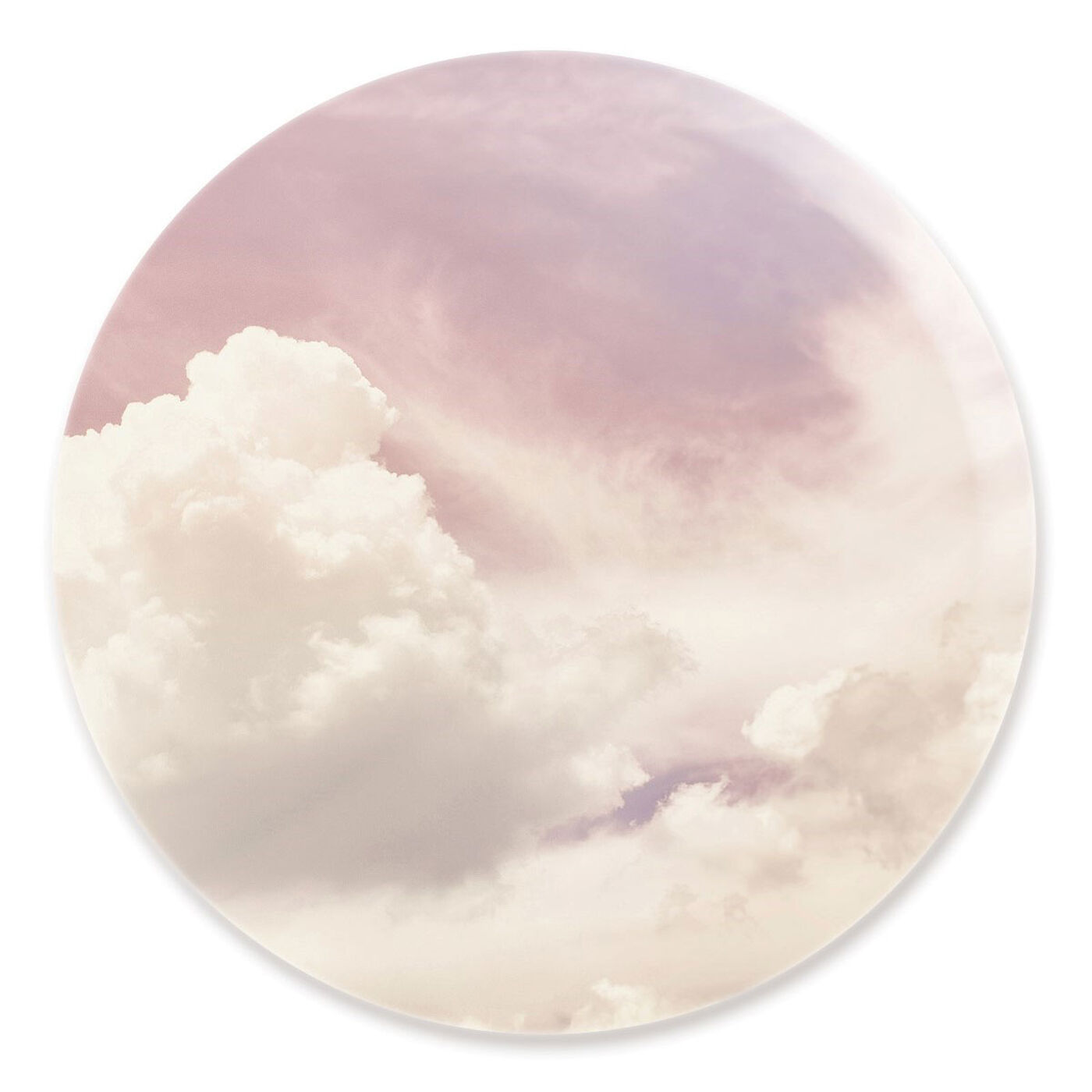 Front view of In The Clouds I featuring nature and landscape and nature art.
