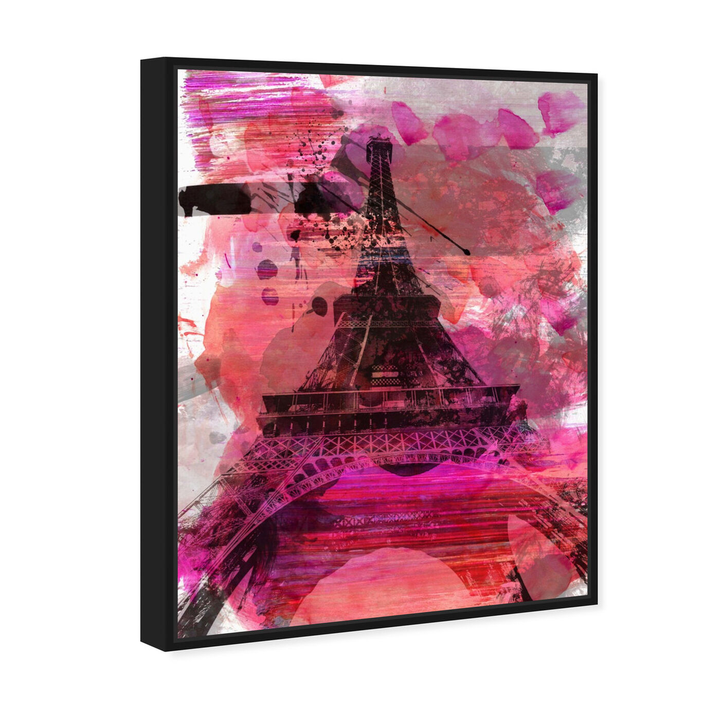 Angled view of Wild Paris featuring cities and skylines and european cities art.