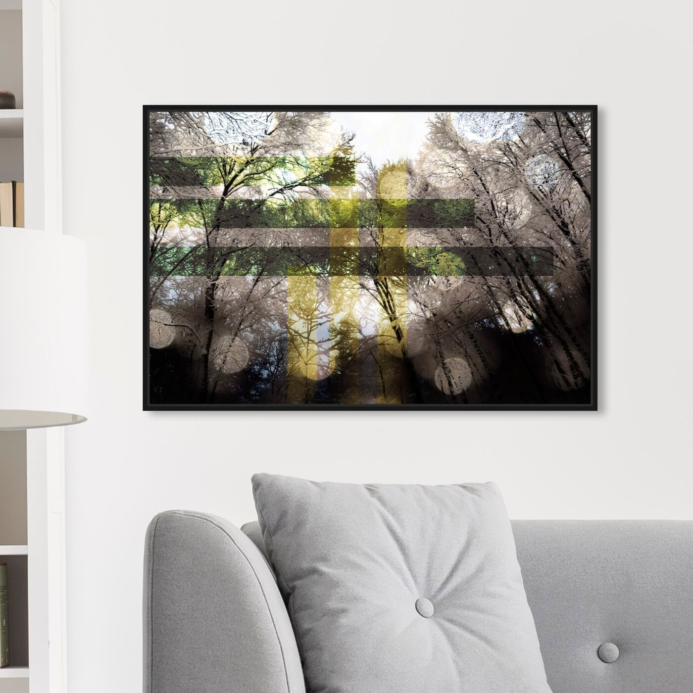 Hanging view of Mount Europa featuring nature and landscape and forest landscapes art.