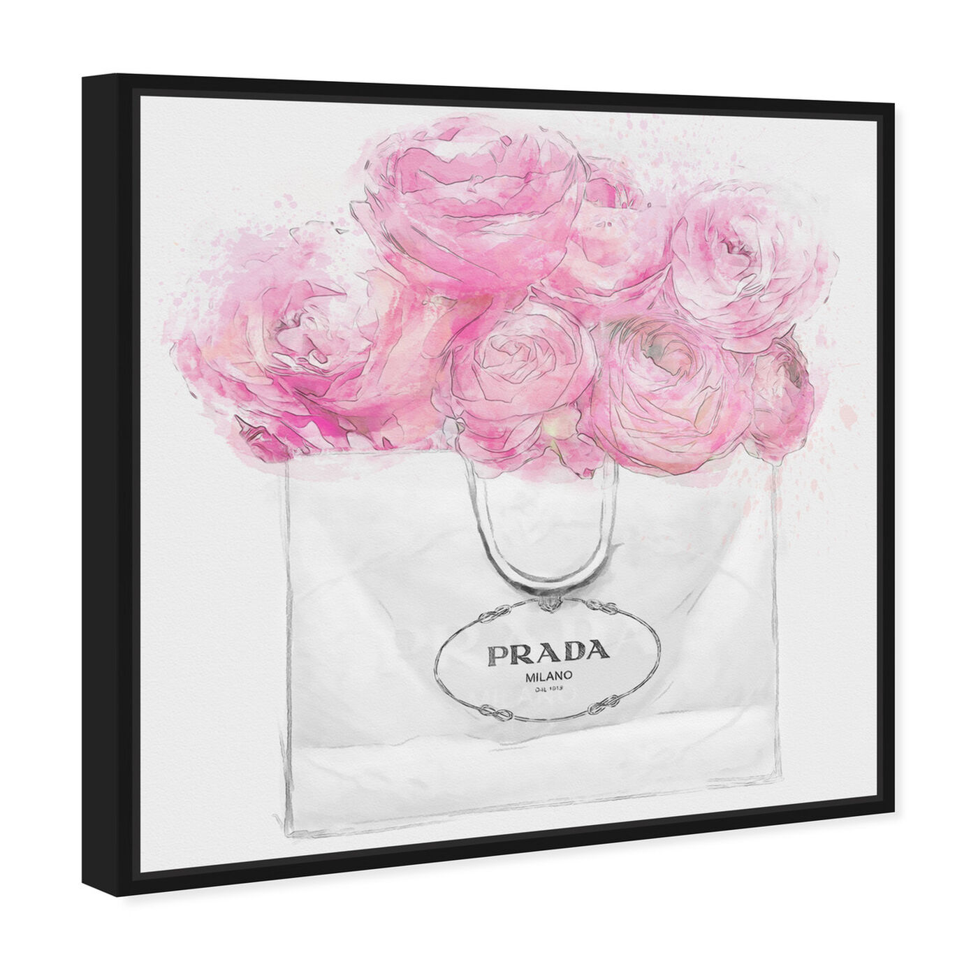 Angled view of Shopping for Peonies Light featuring fashion and glam and fashion art.