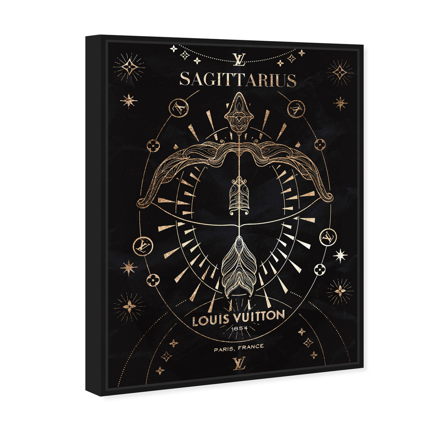 Angled view of Mémoire d'un Sagittarius featuring fashion and glam and lifestyle art.