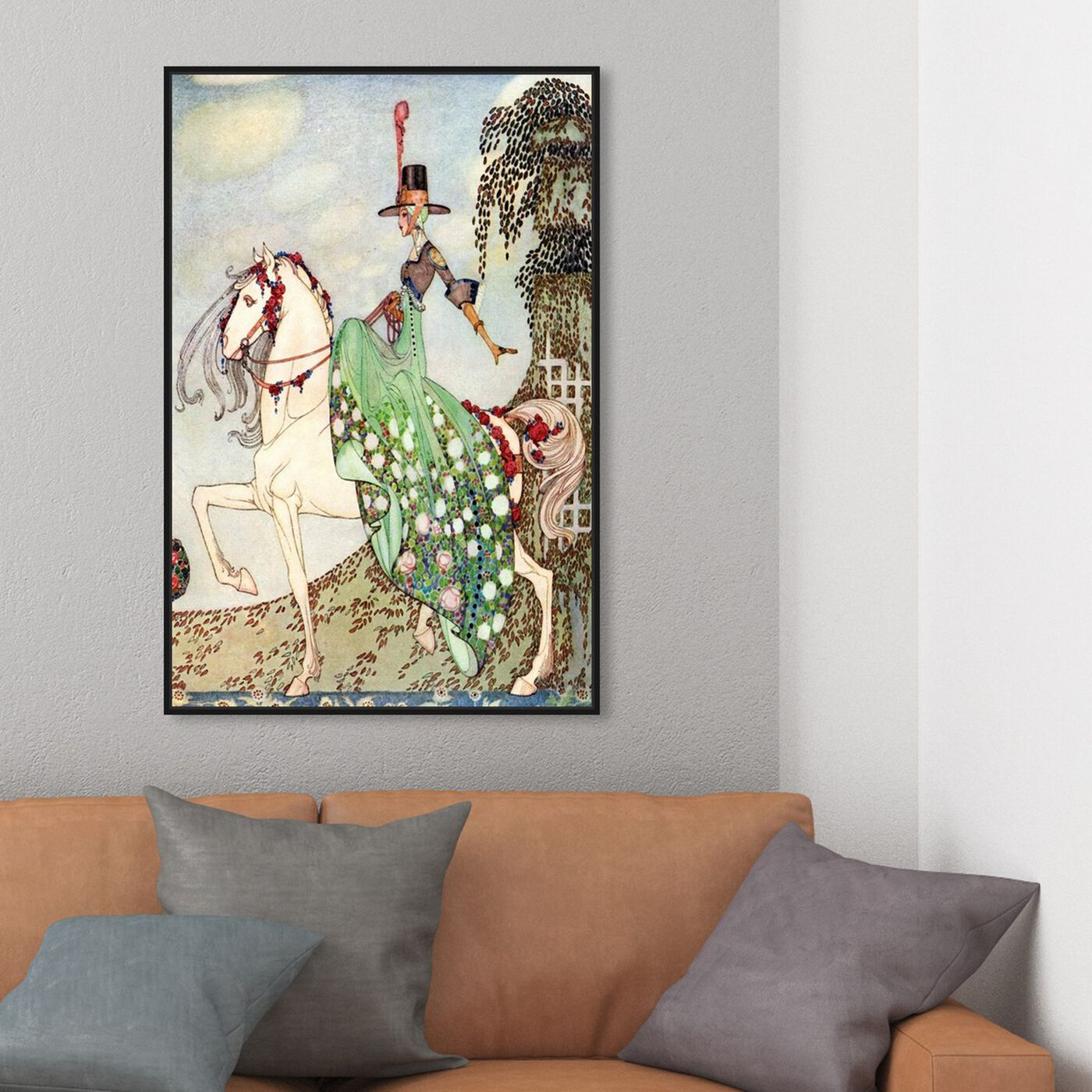 Hanging view of La Princesse featuring fantasy and sci-fi and fairy tales art.