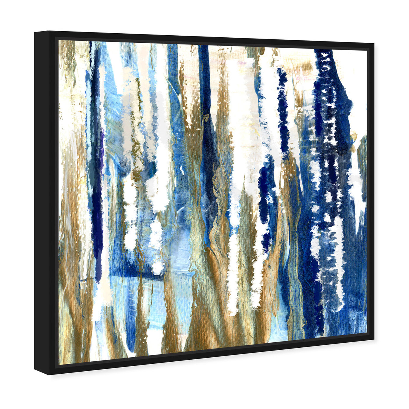 Angled view of Take The Lead featuring abstract and paint art.