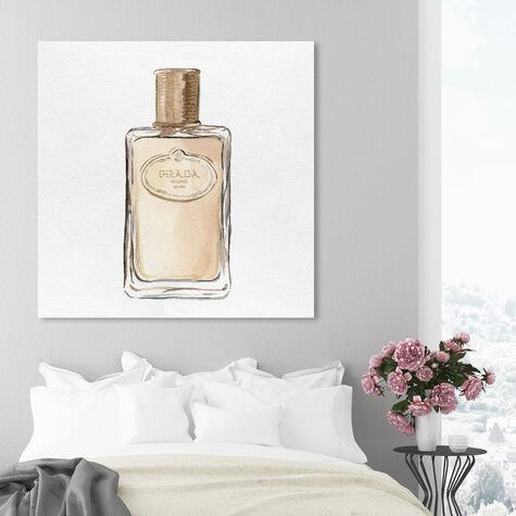 Golden Crystal Bottle