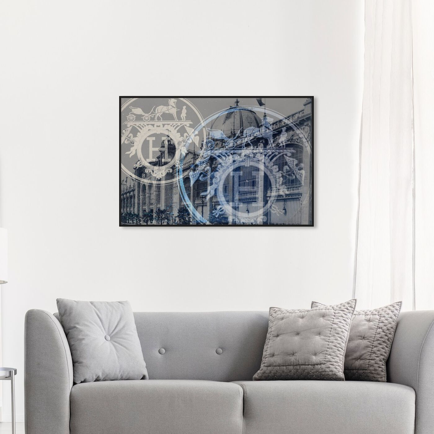 Hanging view of H of Paris featuring fashion and glam and fashion art.