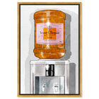 Front view of Parisian Orange Champagne Watercooler featuring fashion and glam and lifestyle art. image number null