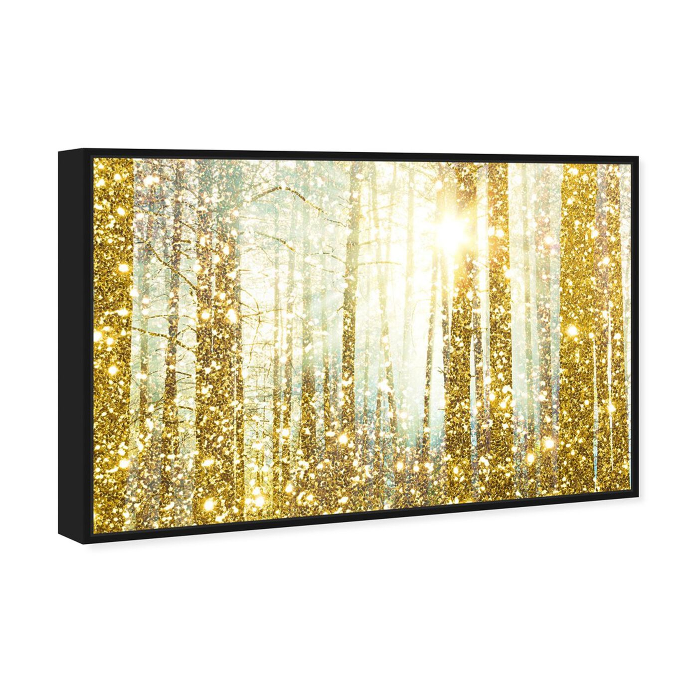 Angled view of Magical Forest  featuring nature and landscape and forest landscapes art.