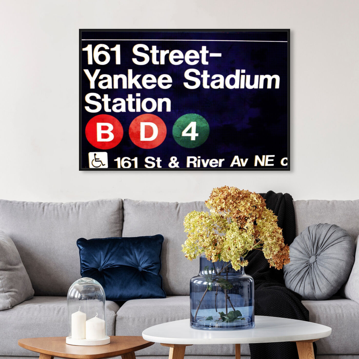 Hanging view of Yankee Stadium featuring architecture and buildings and structures art.